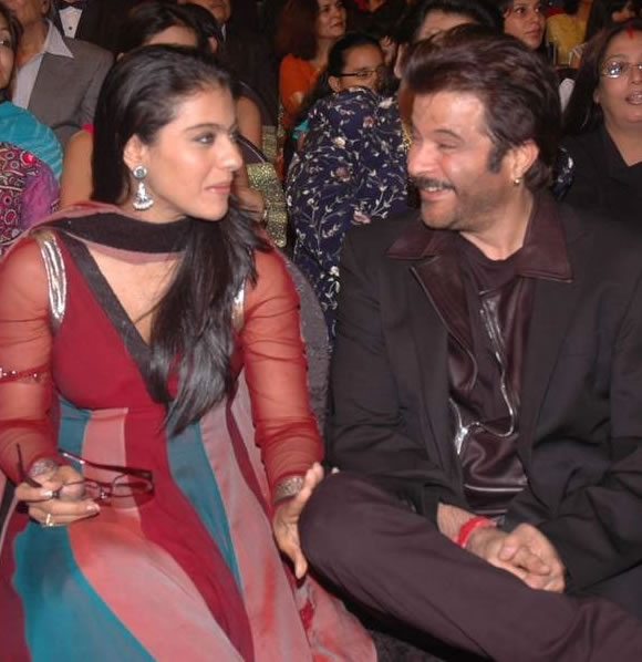 Kajol and Anil Kapoor