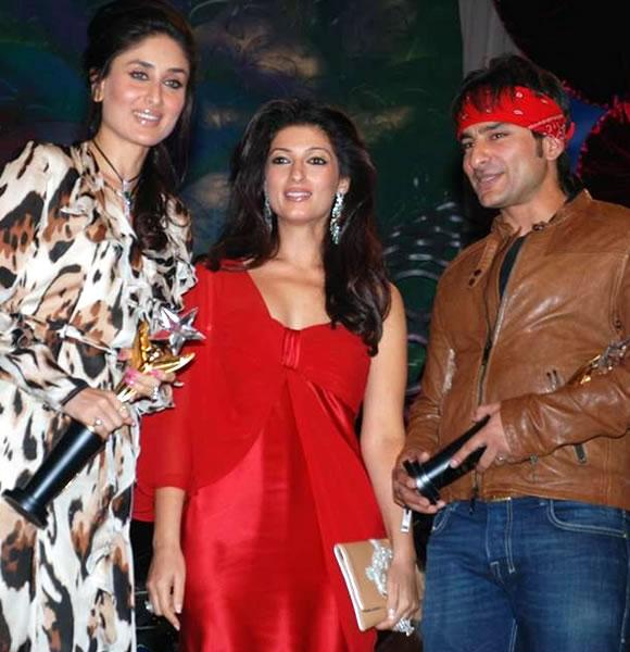 Saif Ali Khan, Twinkle & Kareena Kapoor