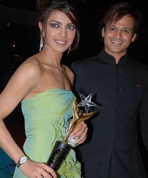 Priyanka Chopra & Vivek Oberoi