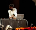 Talvin Singh and his Apple MAC