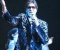 Amitabh Bachchan@Unforgettablle Tour 2008