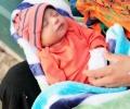 Veena Malik, Asad Bashir Khan and baby Abram