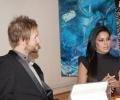 Veena Malik and Vesa Kivinen Artevo