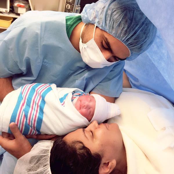 Veena Malik, Asad Bashir Khan & Baby Amal Asad Khan