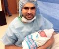 Asad Bashir Khan & Baby Amal Asad Khan