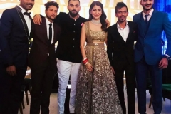 Virat & Anushka welcome Bollywood to Glitzy Wedding Reception