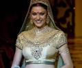 Sushmita Sen  @ Winter Festive Lamke Fashion Week 2010