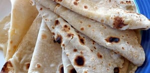 Quick Recipes - Basic Chapatis (flat bread)