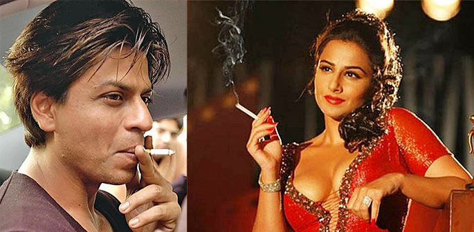 Bollywood smoking