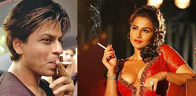 Bollywood smoking