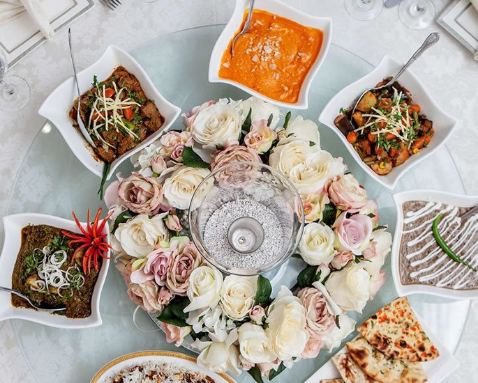 Asian Wedding Cuisine - caterers