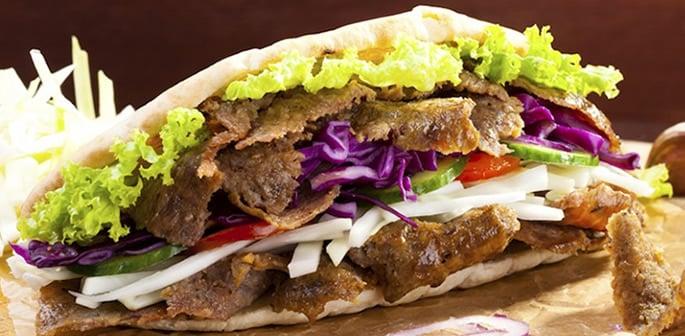 doner kebab pitta