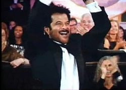 Anil Kapoor at Golden Globes