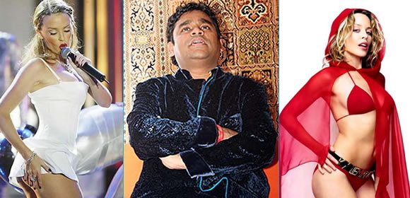 Fusion of A.R. Rahman and Kylie Minogue for Blue