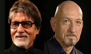 Amitabh Bachchan and Ben Kingsley