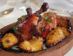 Tandoori Chicken Starter