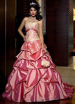 Maggie Sottero Pink Wedding Dress