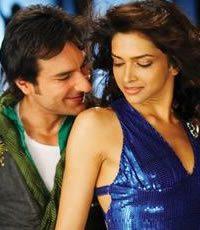 Jai (Saif Ali Khan) and Meera (Deepika Padukone)