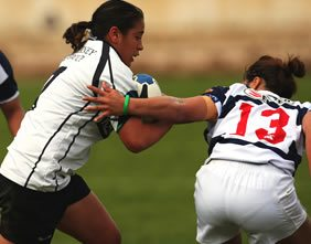 Women's Rugby match