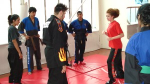 FK-MMA Club: Parma teaching his students - Click to enlarge the image