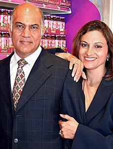 Kirit and Meena Pathak
