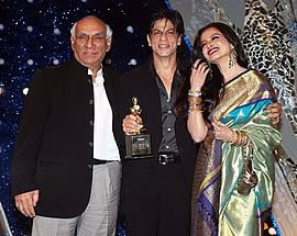 Yash Raj, Shahrukh Khan and Rekha