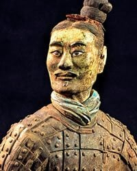 Chinese Terracota army soldier
