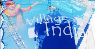 Village India banner