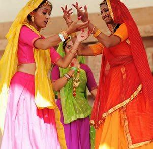 Village India dancers