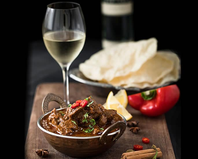 Best Wines for Indian Cuisine - white wine