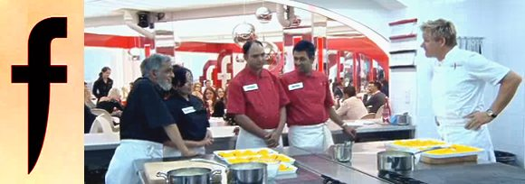 Gordon Ramsay chats to the Indian Restaurant teams on The F Word
