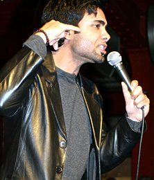 Paul Chowdhry performing