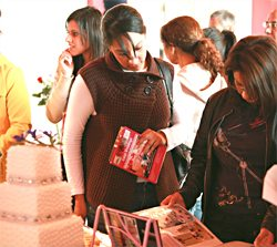 Visitors at the Asian Wedding Fayre