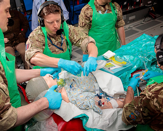 Flying High with the RAF Medical Services - training