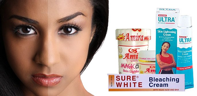 Dangers of Skin Lightening Creams
