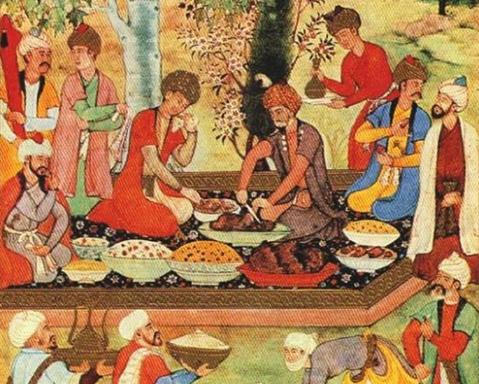 History of the Naan - royal courts food