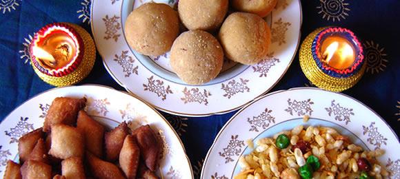 Food Delights of Diwali
