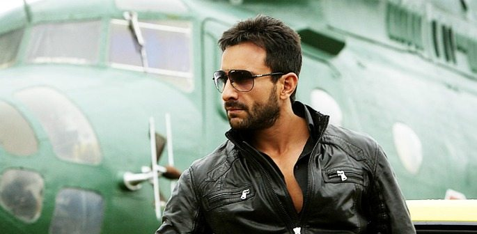 Agent Vinod is Saif as a Spy