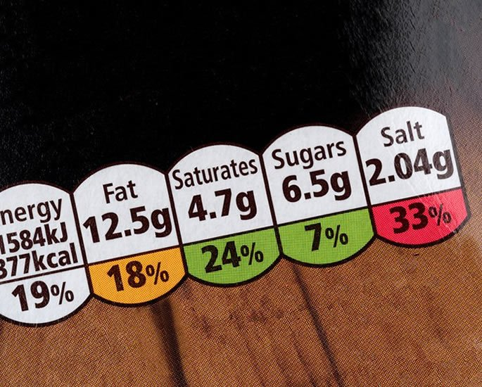 Cut the Salt and Reduce the Risk in a Desi Diet - food labels