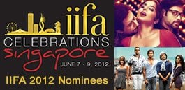 IIFA 2012 Nominees