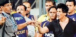 SRK banned from Wankhede Stadium