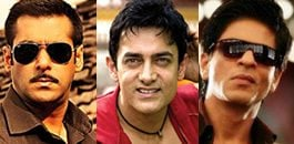 The Three Khans of Bollywood