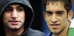 Amir Khan and Haroon beat Car Thieves