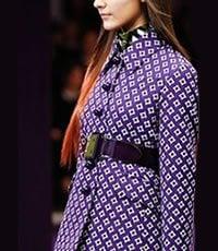 Purple reigns Winter Fashion 2012