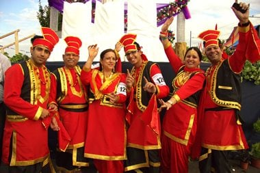 World Record for Bhangra