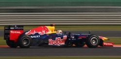 Vettel winner of 2012 India Formula One