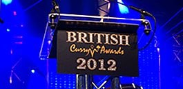 British Curry Awards 2012