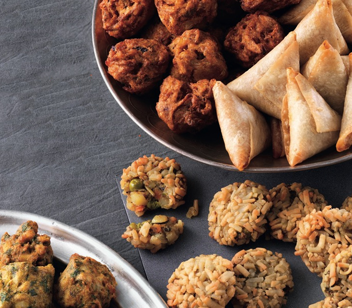 Desi Influences on Festive Food - Samosas