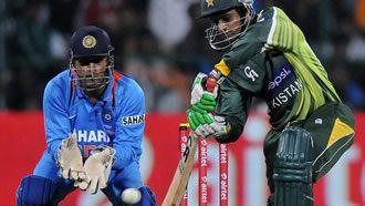 Pakistan in bat against India