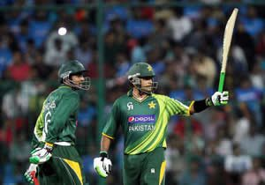 Pakistan in Historic T20 win against India